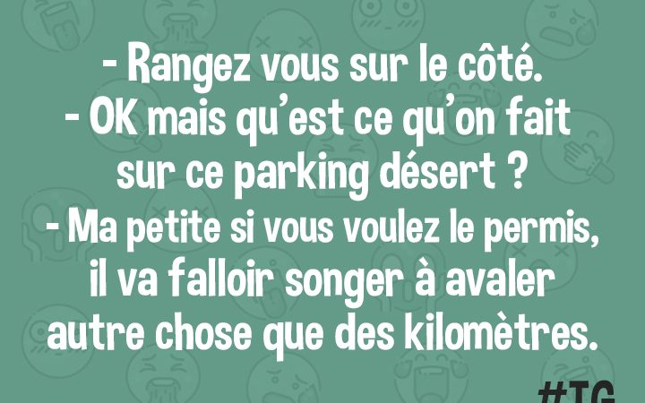 Une question de Permis
